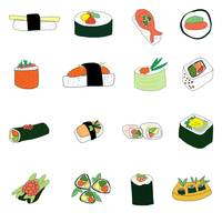 Sixteen Servings of Sushi