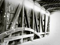 Covered Bridge Sunlight-