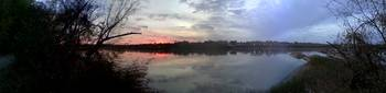 Missouri River Greenway Sunset