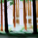 """Cool Forest Myst"" by Art_By_Design_Studio"