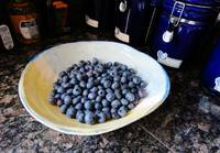 Blueberries...