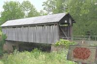 Ringo Mills Covered Bridge 18x12