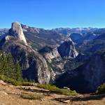 """Yosemite Valley and Half Dome Panorama"" by phillipc81"