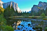 El Capitan River Reflection