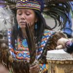 """Santa Fe Shamana with Drum"" by awsheffield"