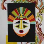 """""""kachina mask"""" by AnnWilliams"""