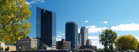 Grand Rapids Skyline-Art Prize