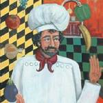 """Juggling Chef by Kilpatrick"" by theartlady"