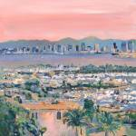 """Sunrise San Diego California"" by BeaconArtWorksCorporation"