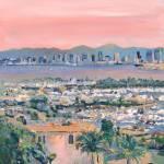 """Sunrise San Diego California"" by BeaconArtWorksCorporation"