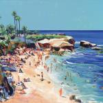 """La Jolla Cove San Diego California"" by BeaconArtWorksCorporation"