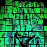 """Man showering in Speedo Green"" by njchip123"