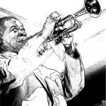 """Louis Armstrong 001"" by rdwittle"