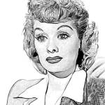 """Lucille Ball 002"" by rdwittle"