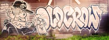 #Graffiti - Cabin Wall - #OldCrow
