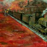 """Whistle Stop"" by markmooreart"