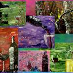 """Sensual Wines Collection"" by markmooreart"