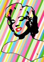 Marilyn Monroe - Forever - Pop Art