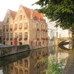 """Canal in Bruges"" by designmia"