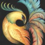 """Exotic Bird painting"" by kogi"