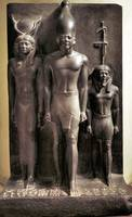 Pharaon, Hathor Godess and Son