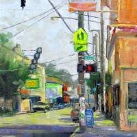 Urban Posts Art Prints & Posters by Brenda Boylan