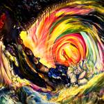 """""""Space Time Abstract Attraction Of Love"""" by saintrt1"""
