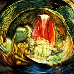 """""""Space Time Abstract Inside The Womb"""" by saintrt1"""