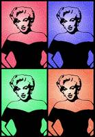 Marilyn Monroe - Blush Too - Pop Art