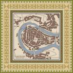 """A Map of the Town of Cesky Krumlov"" by amproehl"