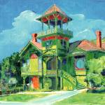 """Sherman Gilbert House Old Town San Diego"" by BeaconArtWorksCorporation"