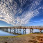 """Quinta do Lago The Wooden Bridge"" by manateevoyager"