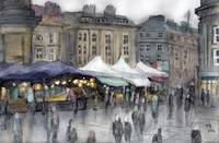 Grey's Monument Food Market, Newcastle