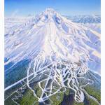 """Timberline Lodge"" by jamesniehuesmaps"