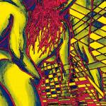 """Sexual Disco In Yellow Sizzle"" by laidig"