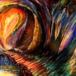 """""""Space Time Abstract Point Of no Return"""" by saintrt1"""