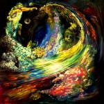 """""""Space Time Abstract  Space Odessey"""" by saintrt1"""