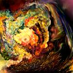 """""""Space Time Abstract Rosseta Stone"""" by saintrt1"""
