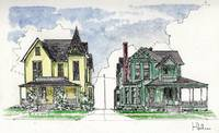 Victorian Houses in Grand Rapids