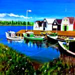 """Pier of Prince Edward Island"" by cneartgallery"