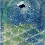 """cyanotype, hand painted rubbing negative"" by jnanian"