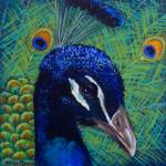 """Peacock 2 painting"" by kogi"