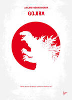 No029-2 My Godzilla 1954 minimal movie poster