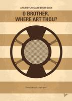 No055 My O Brother Where Art Thou minimal movie po