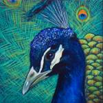 """Peacock 4 painting"" by kogi"
