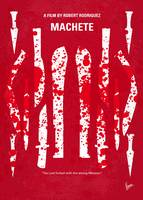 No114 My Machete minimal movie poster