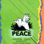 """peace poster"" by kogi"