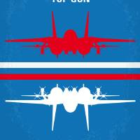 """No128 My TOP GUN minimal movie poster"" by Chungkong"