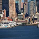 """New York City Docks on the Hudson"" by Ffooter"
