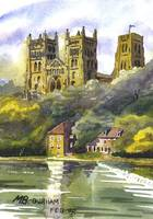 Durham Cathedral and Fulling Mill, Strong Sunlight